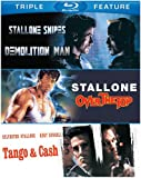 Sylvester Stallone Triple Feature (Demolition Man / Over the Top / Tango & Cash)...