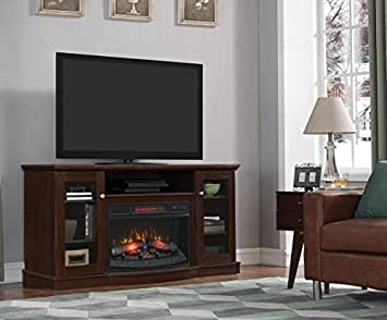 Amazon.com: ChimneyFree Media Electric Fireplace for TVs up to 65 ...