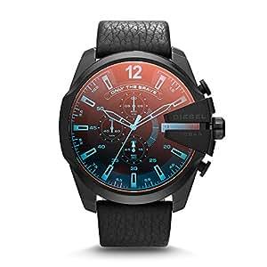 Diesel Men's DZ4323 Diesel Chief Series Analog Display Analog Quartz Black Watch