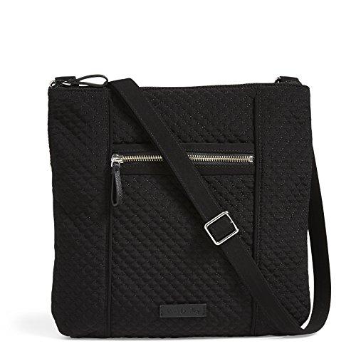 Vera Bradley Iconic Hipster Crossbody Bag, Microfiber,Classic Black ()