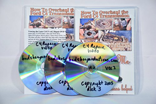 BadShoe's How To Rebuild the Ford 70+ C4/C5 Transmission instructional DVD - Info Spec Sheet