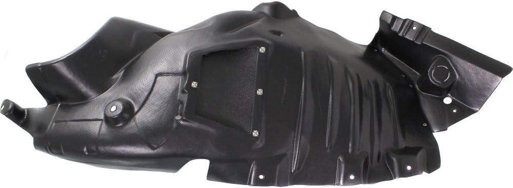 Plastic For E350 10-13 Front Driver Side Fender Splash Shield