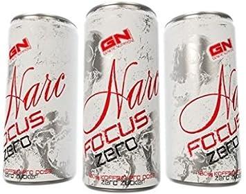 Gn Laboratories Narc Fokus Zero Energy Drink Ohne Zucker Sugarfree