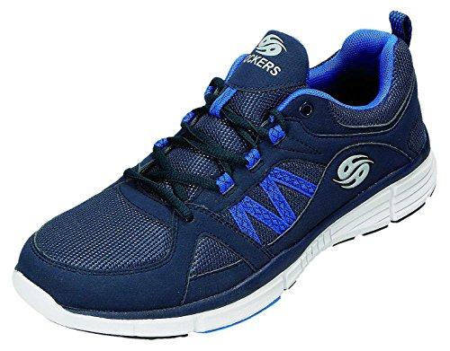 Dockers - Zapatos de cordones para hombre azul azul marino azul marino