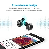 Wireless Earbuds, True Wireless Bluetooth Earbuds with Mic in-Ear Earphones 3D Stereo Sound Wireless Headphones for iPhone 8/8 plus/X/7/7 plus/6s/6S for Samsung Galaxy S9, S9 Plus for Android from Shenzhen trendwoo tech co., ltd