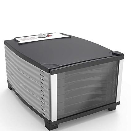 Uben Bandeja graduada 6 del desecador eléctrico de la Comida con el termóstato Ajustable 29-