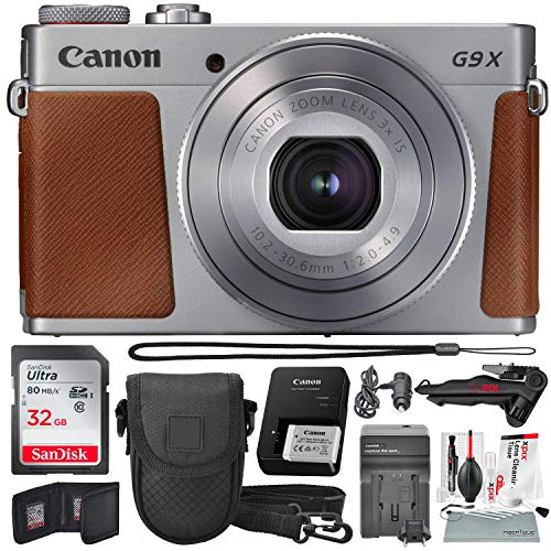 Canon PowerShot G9 X Mark II Wi-Fi Enabled Digital Camera  w