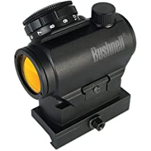 Bushnell AR731306C TRS-25 3 MOA AR Optics Red Dot Sights with Hi-Rise Mount & Clamshell, Matte