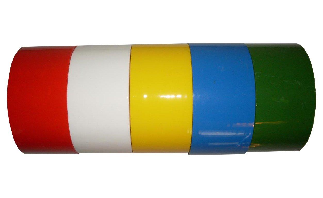 6x Klebeband Paketband Packband 66m X 48mm gelb
