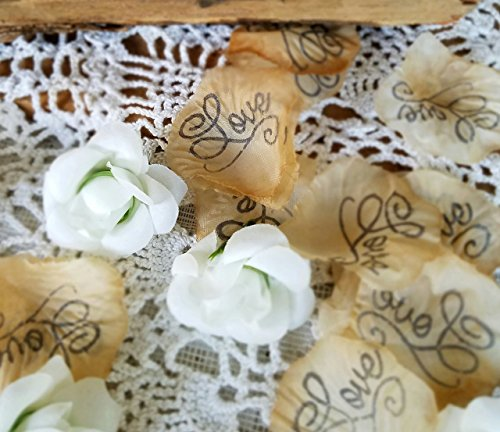 Wedding Confetti, silk rose petals, White silk rosebuds, Wedding Table scatter,Bridal Shower Decorations