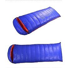 Duck Down Sleeping Bag Water Repellent Camping Hiking Sleep Bedding Envelop Style