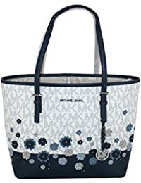 MICHAEL Michael Kors Women's Jet Set Travel (Navy)