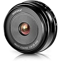 Neewer 28mm f/2.8 Manual Focus Prime Fixed Lens for SONY E-Mount Digital Cameras, Such as NEX3, 3N, 5, 5T, 5R, 6, 7, A5000, A5100, A6000, A6100 and A6300 (NW-E-28-2.8) Benefits Review Image