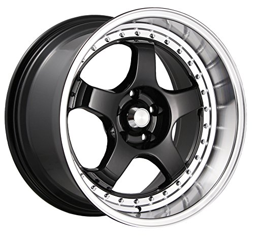 Konig SSM Gloss Black Wheel with Machined Lip