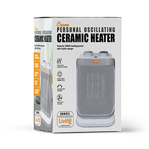 Crane USA Mini Tower Heater,