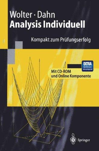 Analysis Individuell: Kompakt zum Prüfungserfolg (German Edition) PDF
