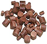 Whitecap Teak Boat Wood Plug (20-Pack), 3/8-Inch