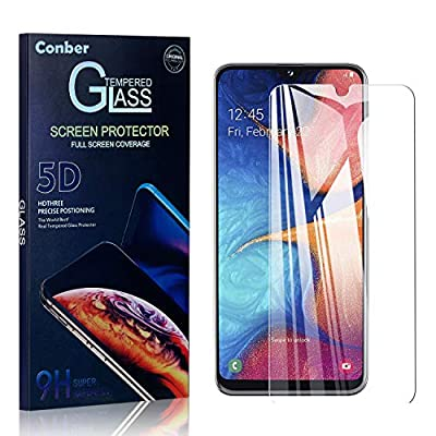 Conber (4 Pack) Screen Protector for Samsung Galaxy A10E, Tempered Glass Film [Scratch-Resistant][Shatterproof][Case Friendly] Screen Protector for Samsung Galaxy A10E: Baby