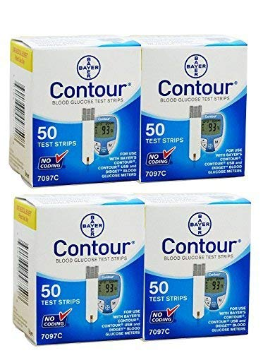 Bayer Contour Blood Glucose, 200 Strips by Bayer