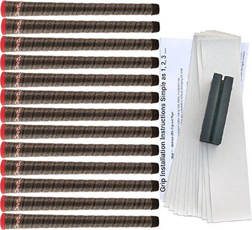 Winn Dri-Tac Wrap Standard Golf Grip Kit (13 Grips, Tape, Clamp) B00RT2CWQW