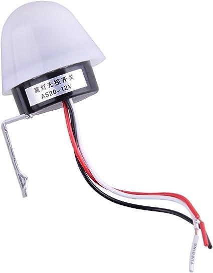 As 20 Dc 12v 10a Lichtsensor Auto Control Schalter Straße Tag Aus Nacht Ein Beleuchtung