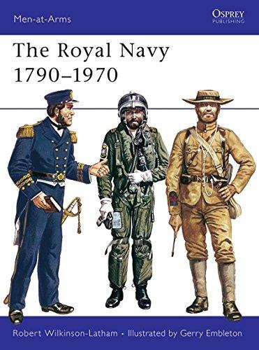 Royal Navy 1790-1970 (Men at Arms Series, - Royal Navy Uniforms