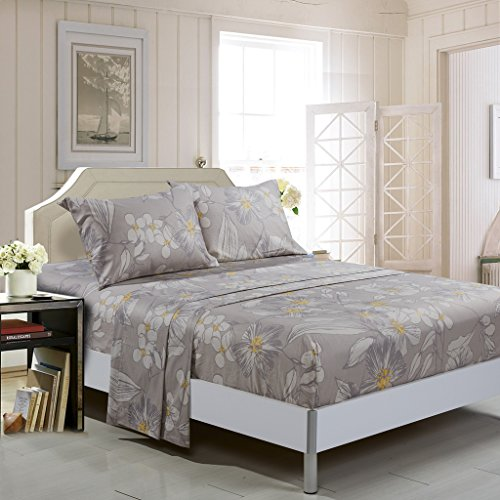 Creative Floral 4 Piece Luxurious Printed product image
