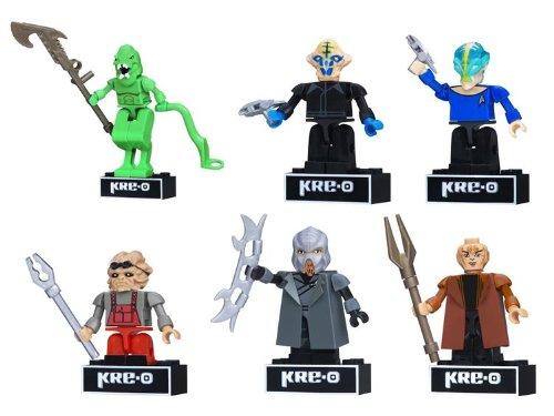 Kre-O Star Trek Kreon Figure Set Collection 1 - Set of 6 Figures (Star Trek Toys Kre O)