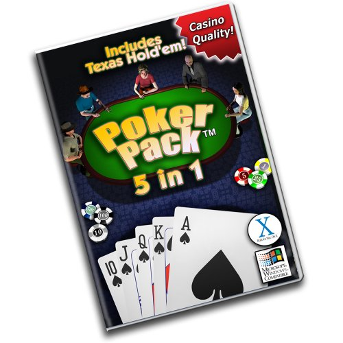 5 in 1:  Texas Hold'em Poker Pack [Download] (Pc Poker For Games)