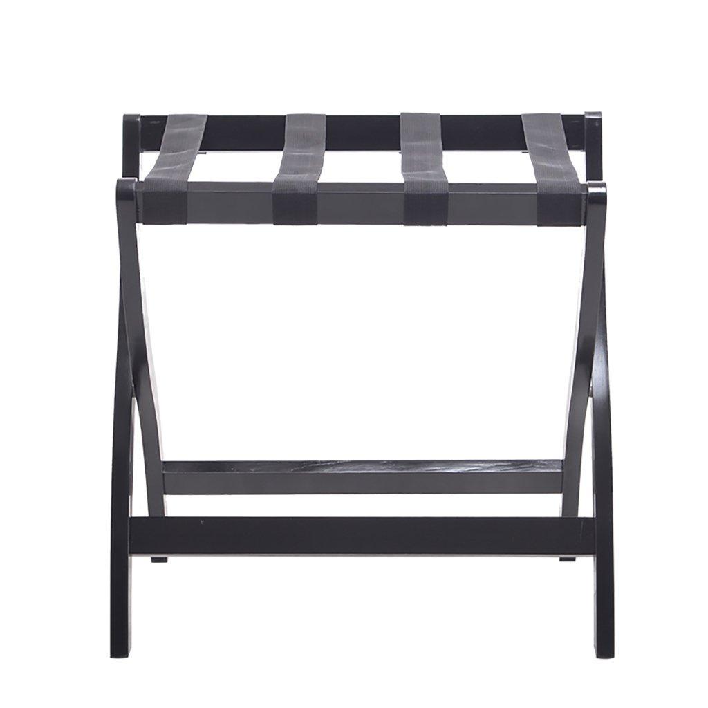 荷物棚 家庭用折り畳み式木製荷物ラックスーツケーススタンドサイズ:60x40x60cm (色 : B) B07QKHQWV1 B