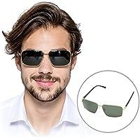 HBY playera ligera de sol polarizadas rectangular 100% Protección UV