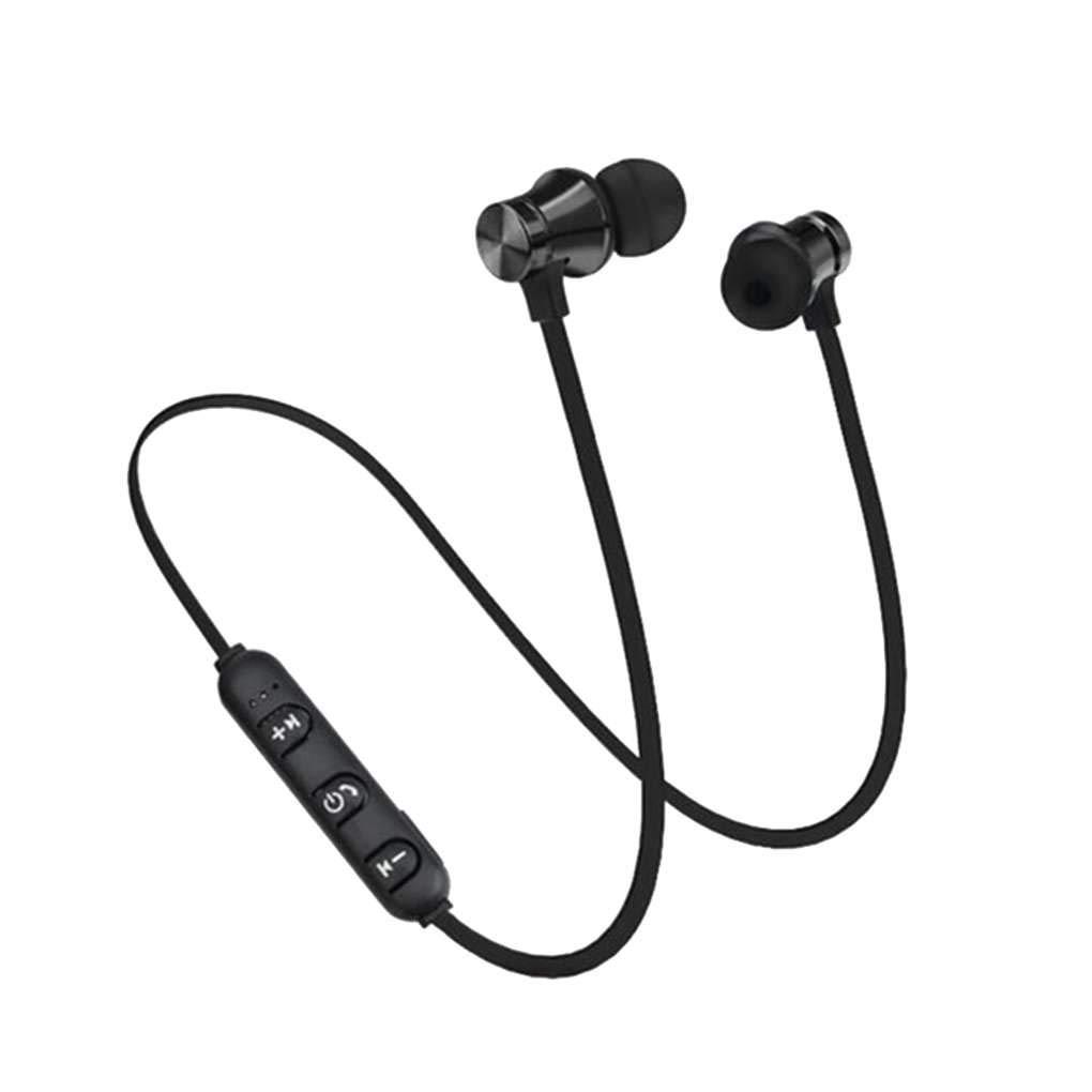 XT11 Bluetooth 4.2 magn/ético en la Oreja los Auriculares Manos Libres Reducci/ón de Ruido Deportes Que Funcionan con conexi/ón de Cable del Auricular del Auricular Mengonee
