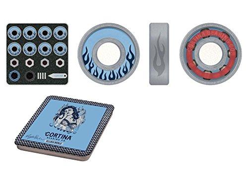 Cortina Skateboard Bearings Elijah Berle Signature Set w/ Matching Axle ()