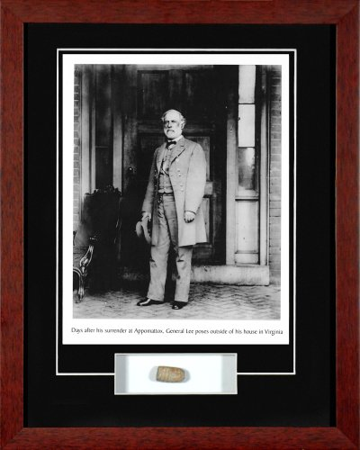 Century Collection General Lee with Civil War Relic Framed Photograph (Civil War Pictures Framed)