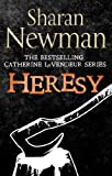 Front cover for the book Heresy by Sharan Newman