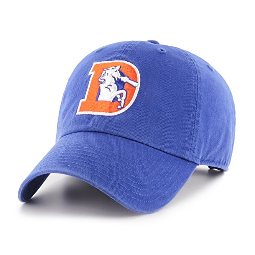 Denver Broncos Hats - OTS NFL Denver Broncos Legacy Challenger Adjustable Hat, One Size, Royal