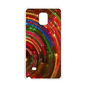 Samsung Galaxy Note 4 White Phone Case Colorful Fantasy Trippy Rational Cost-effective Surprise Gift Unique WIDR8611004419
