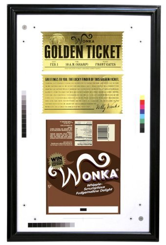 Charlie and the Chocolate Factory Golden Ticket by NECA (Willy Wonka And The Chocolate Factory Candy)