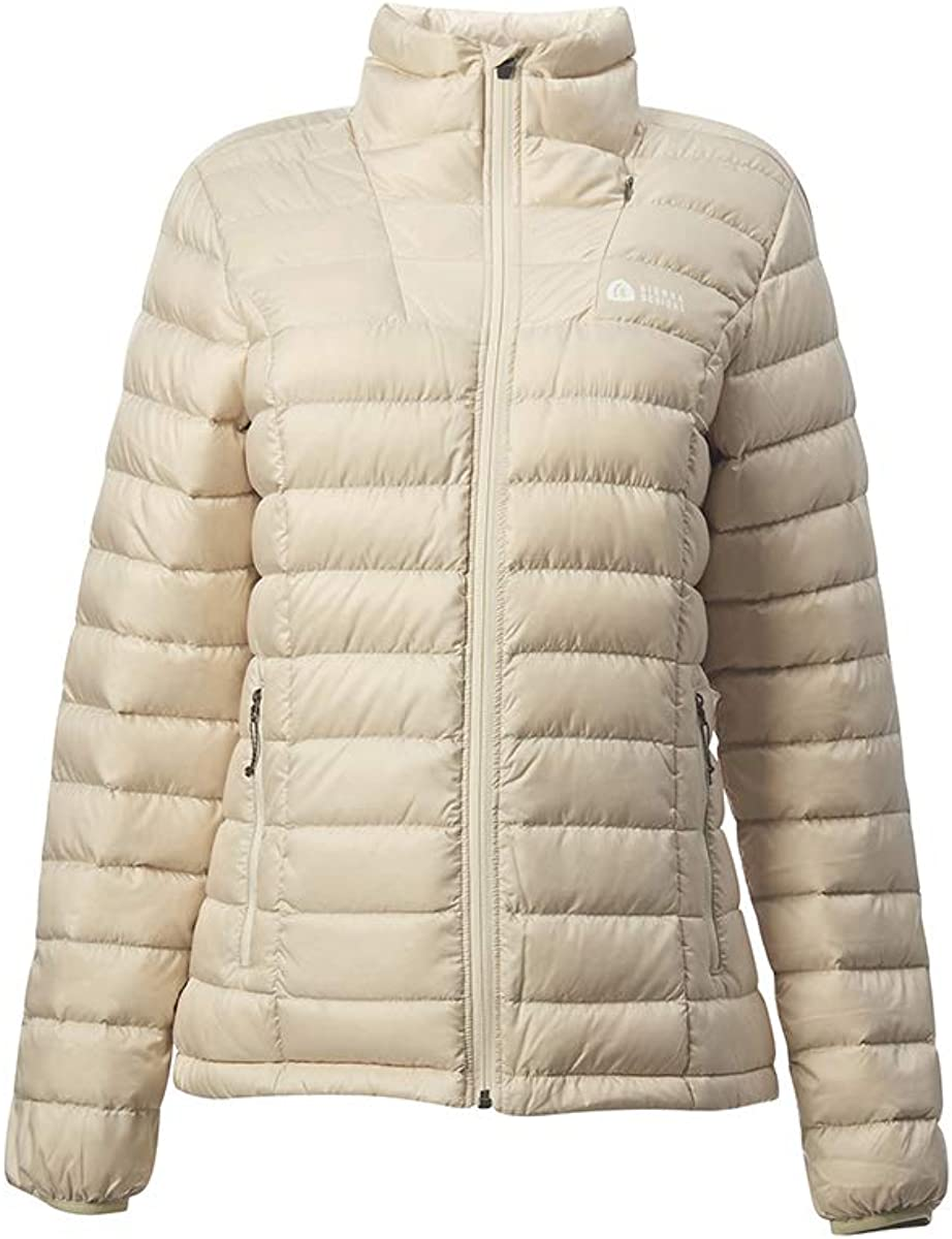 Sierra Designs Women's Sierra DriDown Jacket, 800 Fill Winter Down Jacket