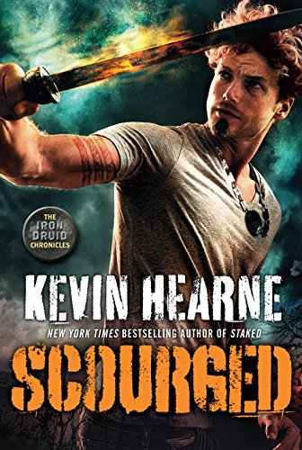 Scourged: The Iron Druid Chronicles, Book Nine cover