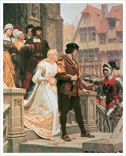 "Poster in 5 Sizes /""Call to Arms/"" by Edmund Blair Leighton"
