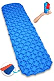 #6: Premium New Lightweight Sleeping Pad Air Mat With Buttons For Two People or Single Person - Ultra-Compact Pads for Camping, Backpacking, Hiking. Perfect Mattress For Tent, Sleeping Bag and Hammock