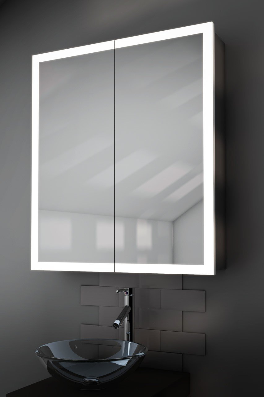 Bathroom Mirror Demister Varma Edge Bathroom Cabinet With Demister Sensor Shaver K419