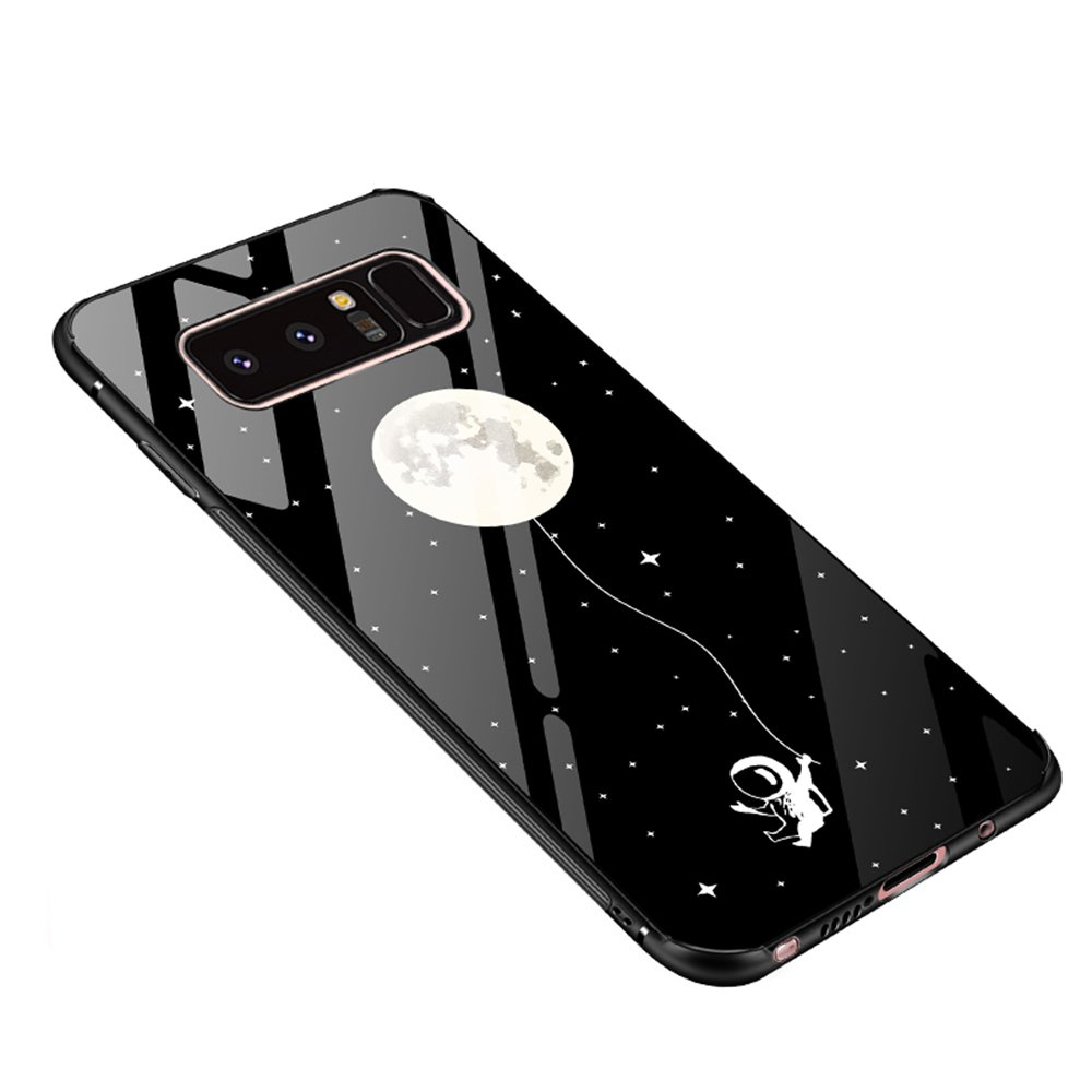 Amazon.com: ATRAING Galaxy Note 8 Case, Tempered Glass Anti ...