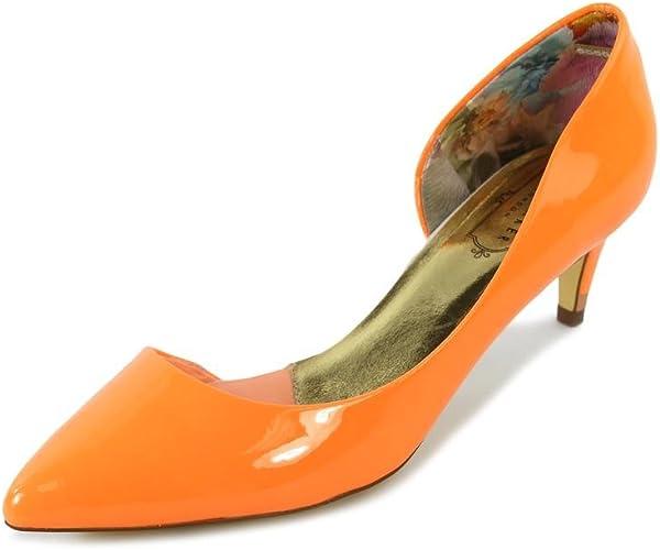 Ted Baker Zenadia Womens Orange Pumps