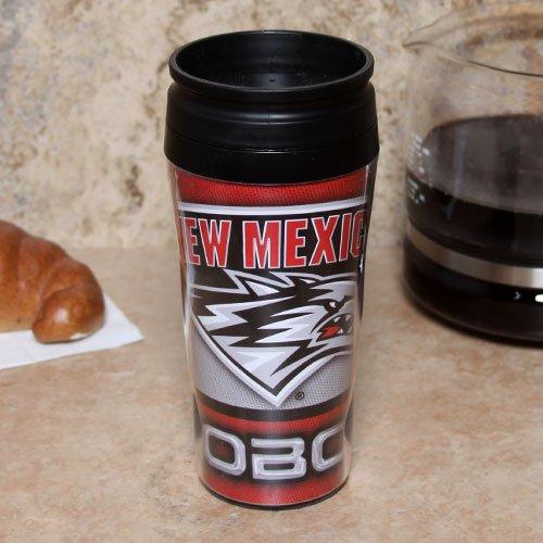 Wincraft NCAA University of New Mexico Travel Mug Contour, 16 oz