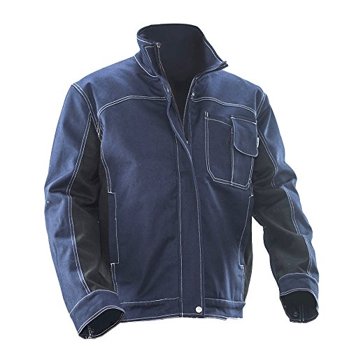 JOBMAN Workwear OUTERWEAR メンズ B016APR146 XL|ネイビー/ブラック ネイビー/ブラック XL