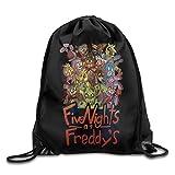 Drawstring Backpack Bag Five Nights At Freddy