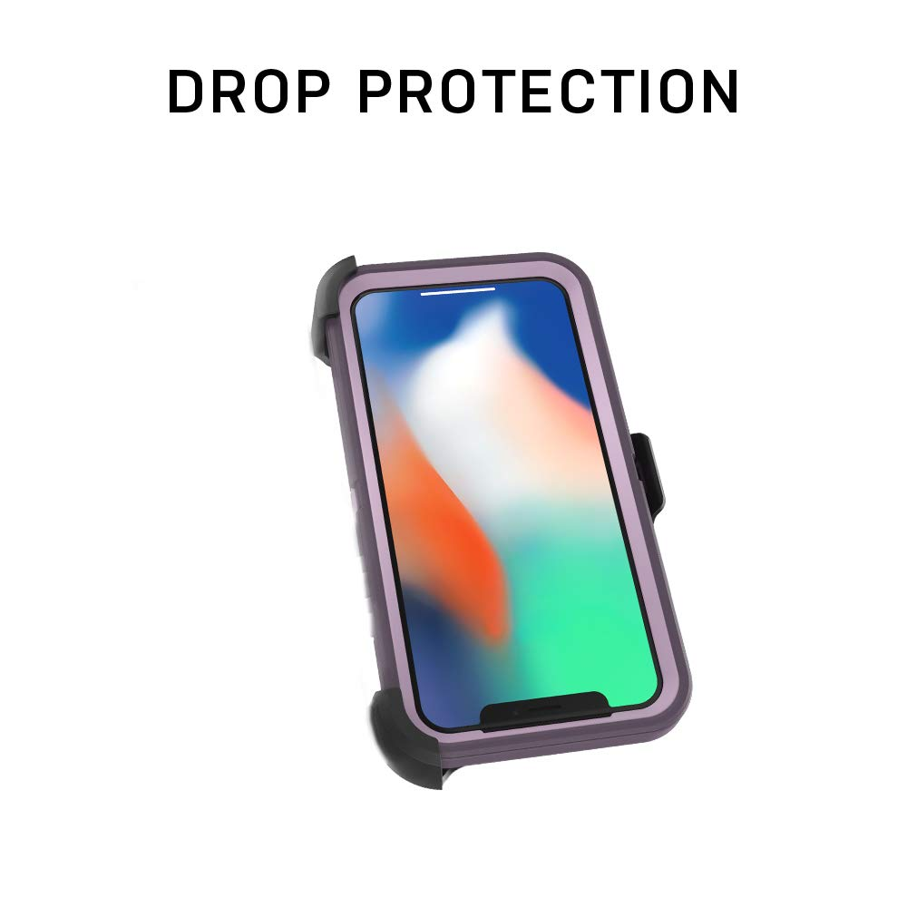 OtterBox Defender Series SCREENLESS Edition Case for iPhone Xr - Retail Packaging - Black by OtterBox (Image #7)