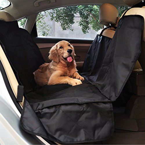 petspy luxury dog car seat cover for all vehicles with side